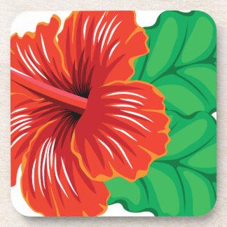 Hibiscus Flower Coaster