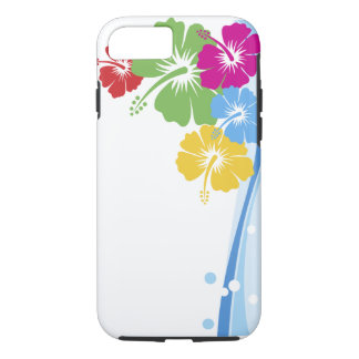 Hibiscus Flower Fashion Fine Floral iPhone 8/7 Case