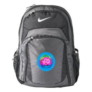 Hibiscus Flower in Design Backpack