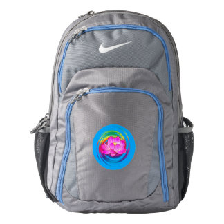 Hibiscus Flower in Design Backpack