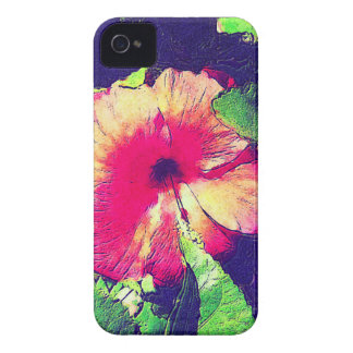 HIBISCUS FLOWER iPhone 4/4S Case-Mate Case