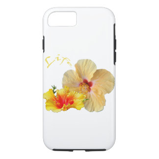 ☼ HIBISCUS , Flower of passion ☼ iPhone 8/7 Case