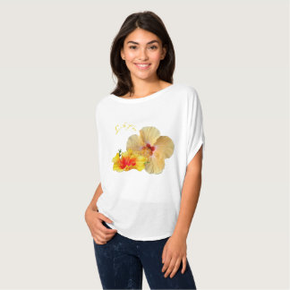 ☼ HIBISCUS , Flower of passion ☼ T-Shirt