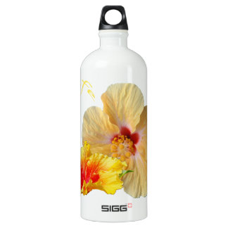 ☼ HIBISCUS , Flower of passion ☼ Water Bottle