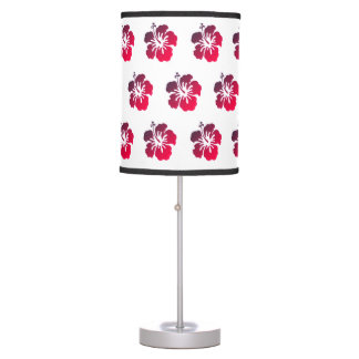 Hibiscus Flower Patter Tropical Lamp