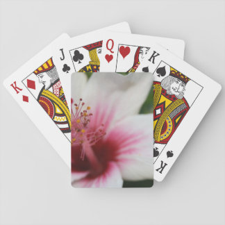 Hibiscus Flower Playing Cards