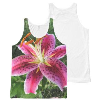 Hibiscus flower tank