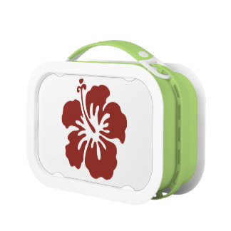 Hibiscus Flower Tropical Lunchbox