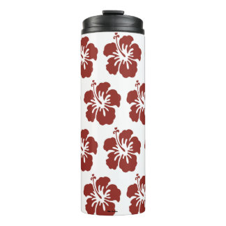 Hibiscus Flower Tropical Thermal Tumbler