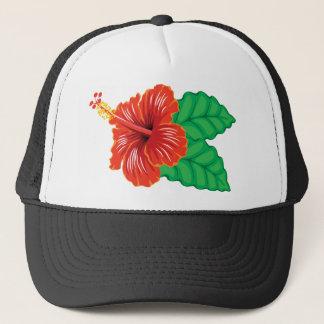 Hibiscus Flower Trucker Hat