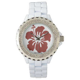 Hibiscus Flower Women's Watch