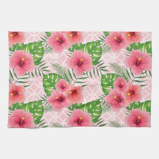 Hibiscus Flowers Kitchen Towel