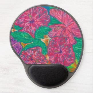 Hibiscus Gel Mousepad