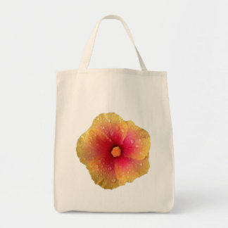Hibiscus Grocery Tote