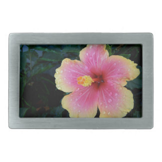 Hibiscus Hawaiian Flower Belt Buckles