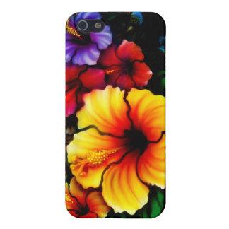 Hibiscus Heaven iPhone 5 Cases