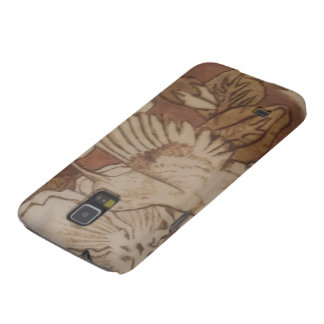 Hibiscus Humming Bird Galaxy S5 Cover