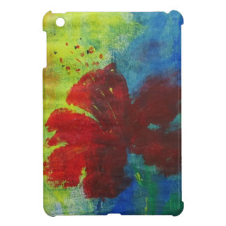 hibiscus iPad mini cover