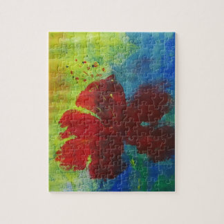 hibiscus jigsaw puzzle