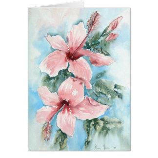 Hibiscus Joy Card