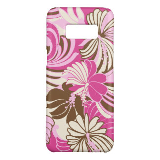 Hibiscus Jungle Hawaiian Tropical Floral Pink Case-Mate Samsung Galaxy S8 Case
