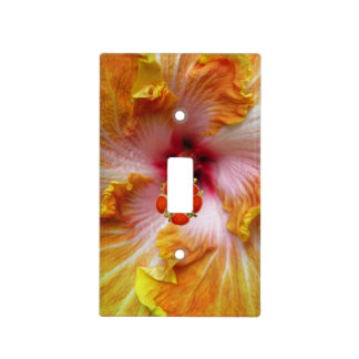 Hibiscus Light Switch Cover
