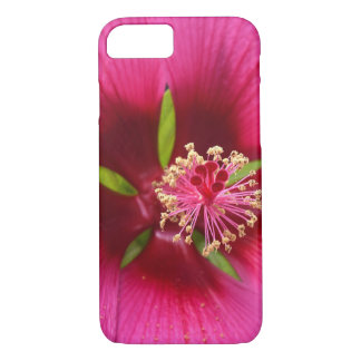 Hibiscus macro iPhone 8/7 case