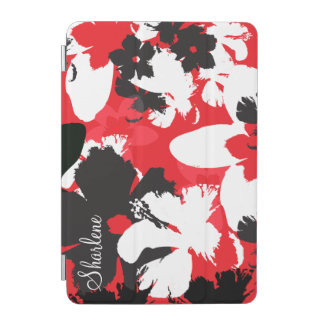 Hibiscus monogram iPad iPad Mini Cover
