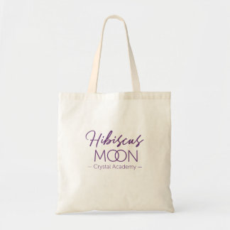 Hibiscus Moon Crystal Academy Basic Tote Bag