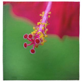 hibiscus napkin