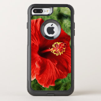Hibiscus OtterBox Commuter iPhone 8 Plus/7 Plus Case
