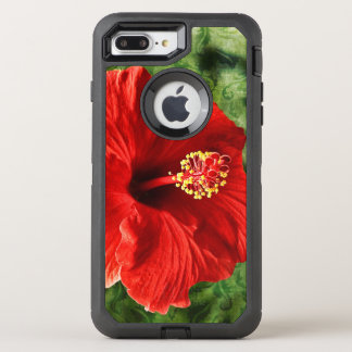Hibiscus OtterBox Defender iPhone 8 Plus/7 Plus Case