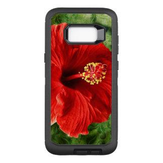 Hibiscus OtterBox Defender Samsung Galaxy S8+ Case