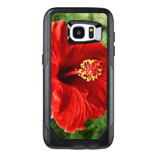 Hibiscus OtterBox Samsung Galaxy S7 Edge Case