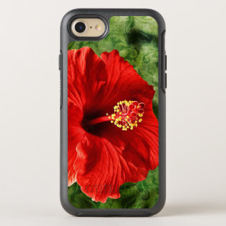 Hibiscus OtterBox Symmetry iPhone 7 Case