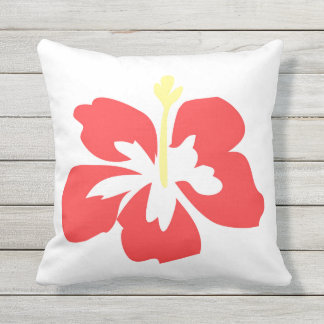 Hibiscus Outdoor Pillow #1