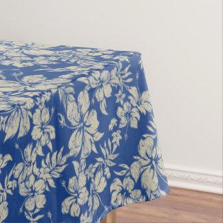 Hibiscus Pareau Distressed Hawaiian Tablecloth