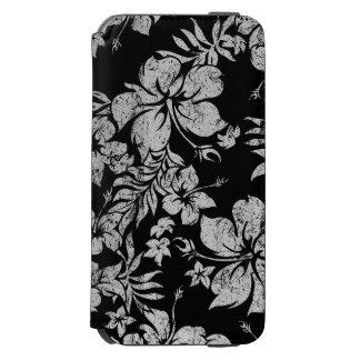 Hibiscus Pareau Hawaiian Floral Aloha Shirt Print Incipio Watson™ iPhone 6 Wallet Case