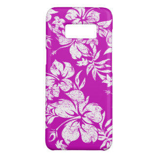 Hibiscus Pareau Hawaiian Floral Magenta Case-Mate Samsung Galaxy S8 Case