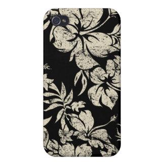 Hibiscus Pareau Hawaiian iPhone 4/4S Covers