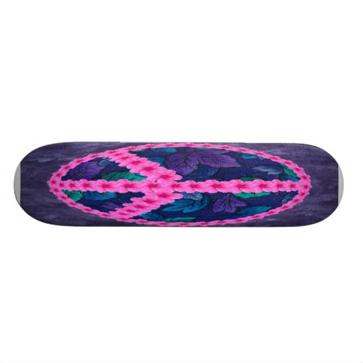 Hibiscus Peace Skate Boards