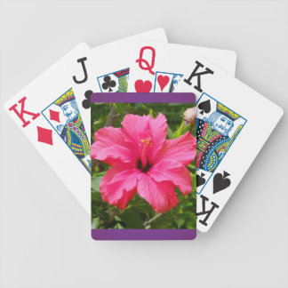Hibiscus Playing Cards