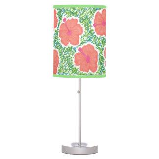 Hibiscus Pop Art Pattern Lamp