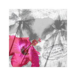 Hibiscus Pop Canvas Print