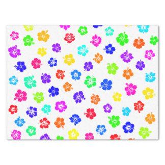 Hibiscus Print Tissue Paper