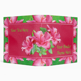 "Hibiscus Queen 2"" Binder"