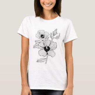 Hibiscus Rose of Sharon Flower T-Shirt