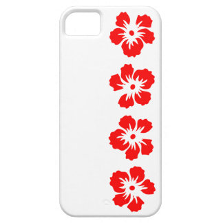 hibiscus rose of Sharon red iPhone 5 Cover