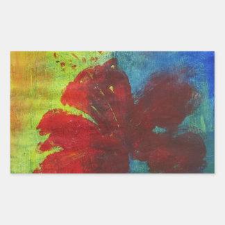 hibiscus sticker