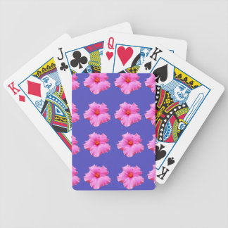 Hibiscus  Summer Breeze,_ Bicycle Playing Cards
